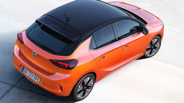 Vauxhall Corsa leaked pic roof