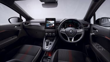 Renault Captur E-TECH full hybrid interior