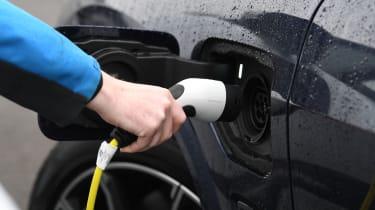 BMW X5 hybrid charging