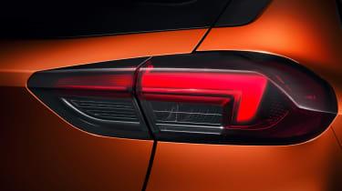 New Vauxhall Corsa-e official 2019 light rear