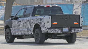 Ford F-150 Electric Pickup - Rear