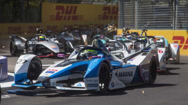 Formel E Santiago de Chile Alexander Sims im BMW iFE.18