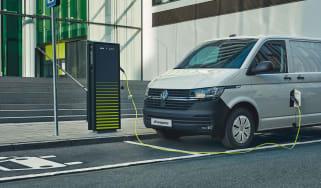 Volkswagen e-Transporter charging