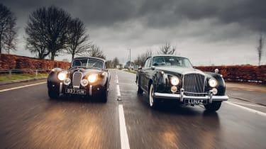 Lunaz Jaguar and Bentley electric classic cars