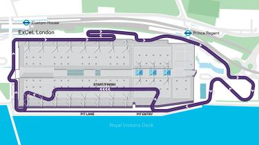 London track map