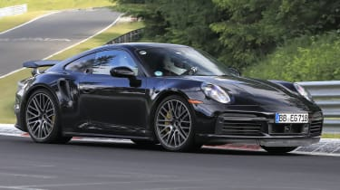 Hybrid Porsche 911 spy shot