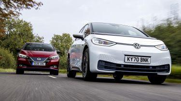 VW ID.3 vs Nissan Leaf