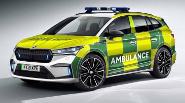 Skoda Enyaq iV ambulance