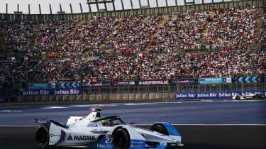 Mexico City (MEX), 16th February 2019. ABB FIA Formula E Championship, Mexico City E-Prix, BMW i Andretti Motorsport, Alexander Sims (GBR) BMW iFE.18 #27.