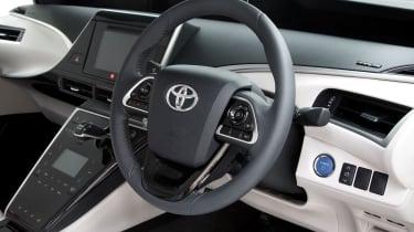 Toyota Mirai (2015-2020) steering wheel