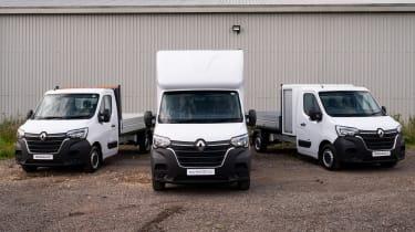 Renault Master E-TECH conversion vans