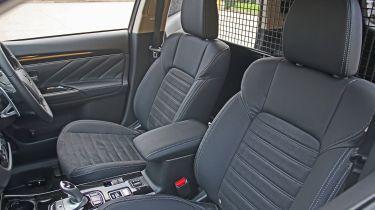 Mitsubishi Outlander PHEV Commercial front seats