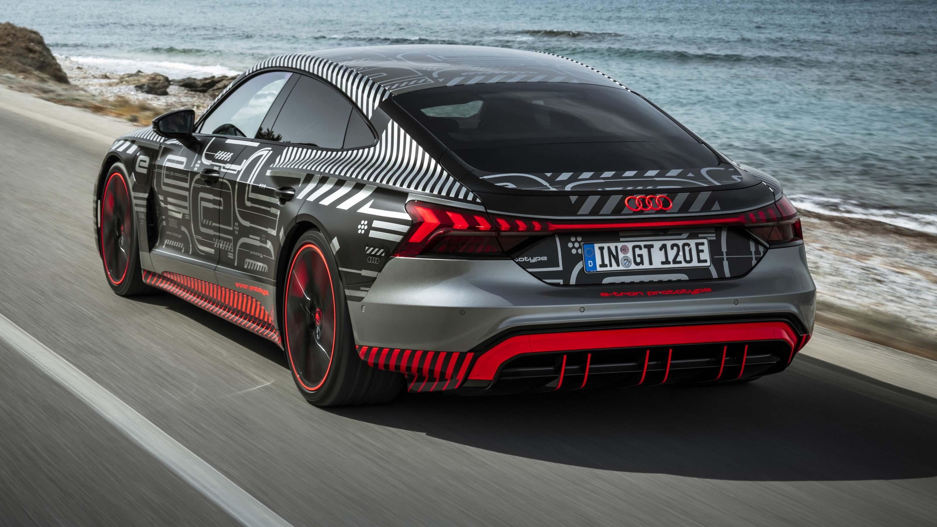 Audi e-tron GT prototype drive pictures | DrivingElectric