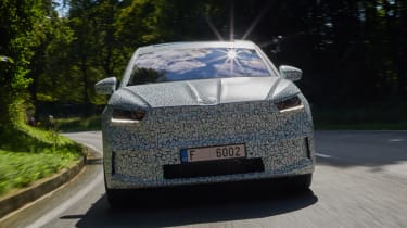 Skoda Enyaq Coupe iV prototype