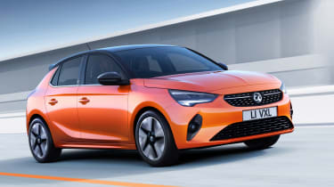 Vauxhall Corsa-e official images