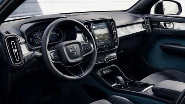 Volvo C40 interior