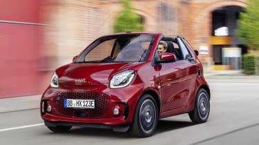 Smart ForTwo Cabrio front