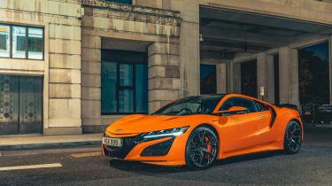 Thermal Orange NSX 2020