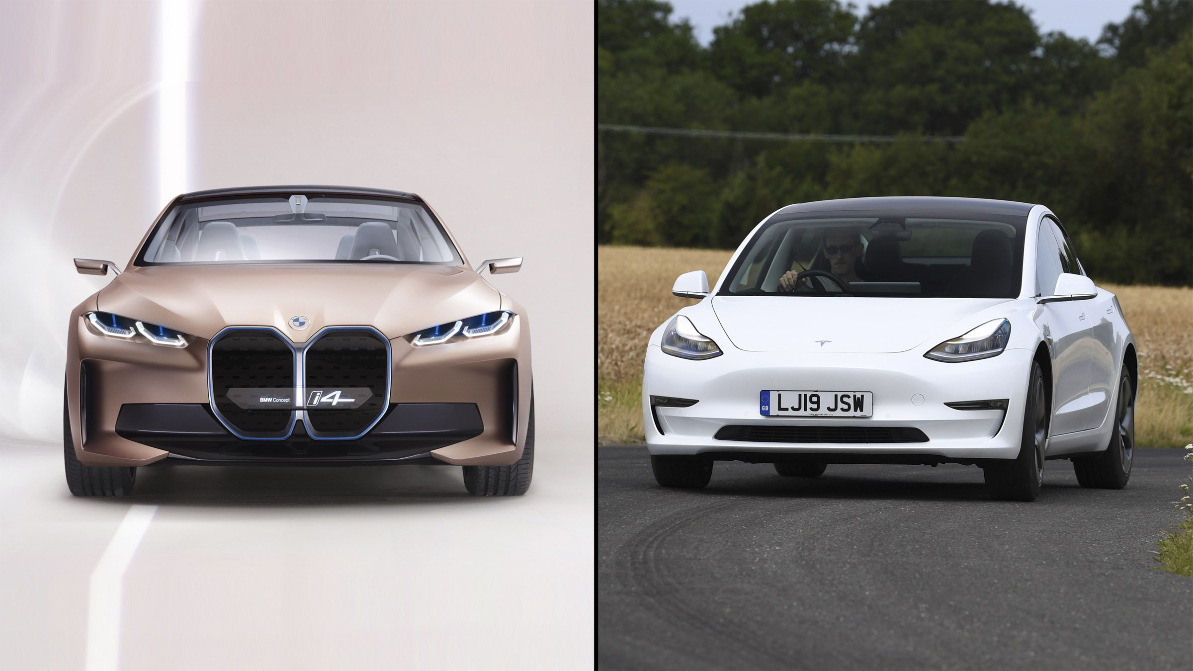 Tesla Model 3 vs BMW Concept i4: in numbers   DrivingElectric