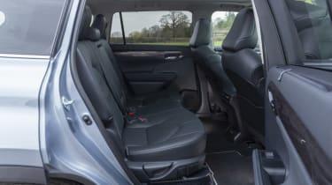 2021 Toyota Highlander Hybrid - Rear Sets