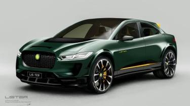 Lister SUV-E Jaguar I-Pace concept