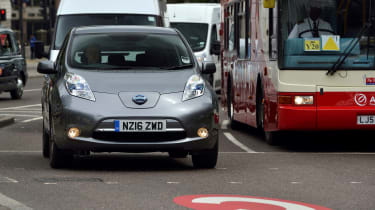 Congestion Charge and Nissan Leaf