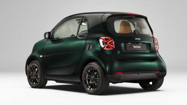 Smart EQ ForTwo Coupe Racing Green Edition