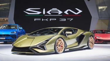 Lamborghini Sian hybrid hypercar