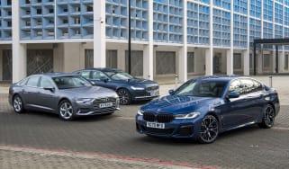 BMW 530e vs Audi A6 TFSI e vs Volvo S90