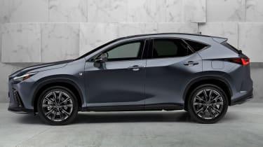 New 2022 Lexus NX 450h+ plug-in hybrid