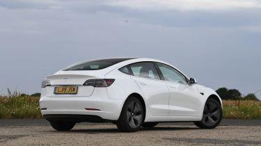 Tesla Model 3 rear static