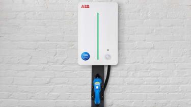ABB EV charge point