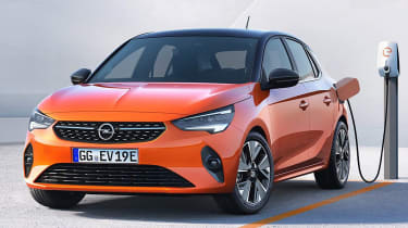 Vauxhall Corsa leaked pic charging