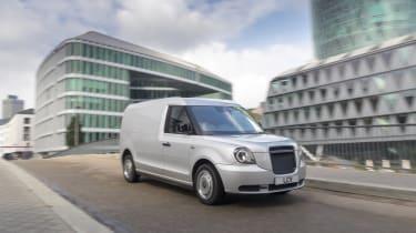 LEVC hybrid van