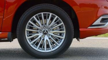 Outlander alloy wheel