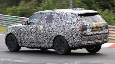 2022 Range Rover PHEV spied testing