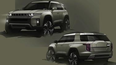 SsangYong J100 concept art