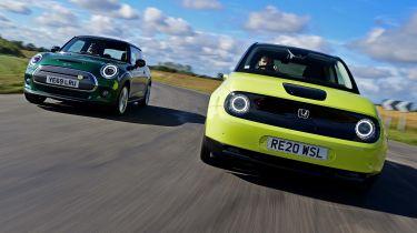 Honda e vs MINI Electric