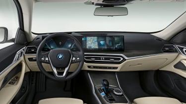 BMW i4 interior