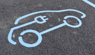 Charging logo