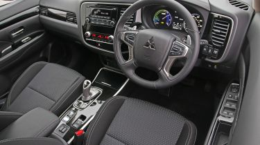 Mitsubishi Outlander PHEV Commercial interior