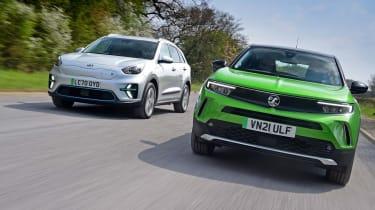 Kia e-Niro vs Vauxhall Mokka-e