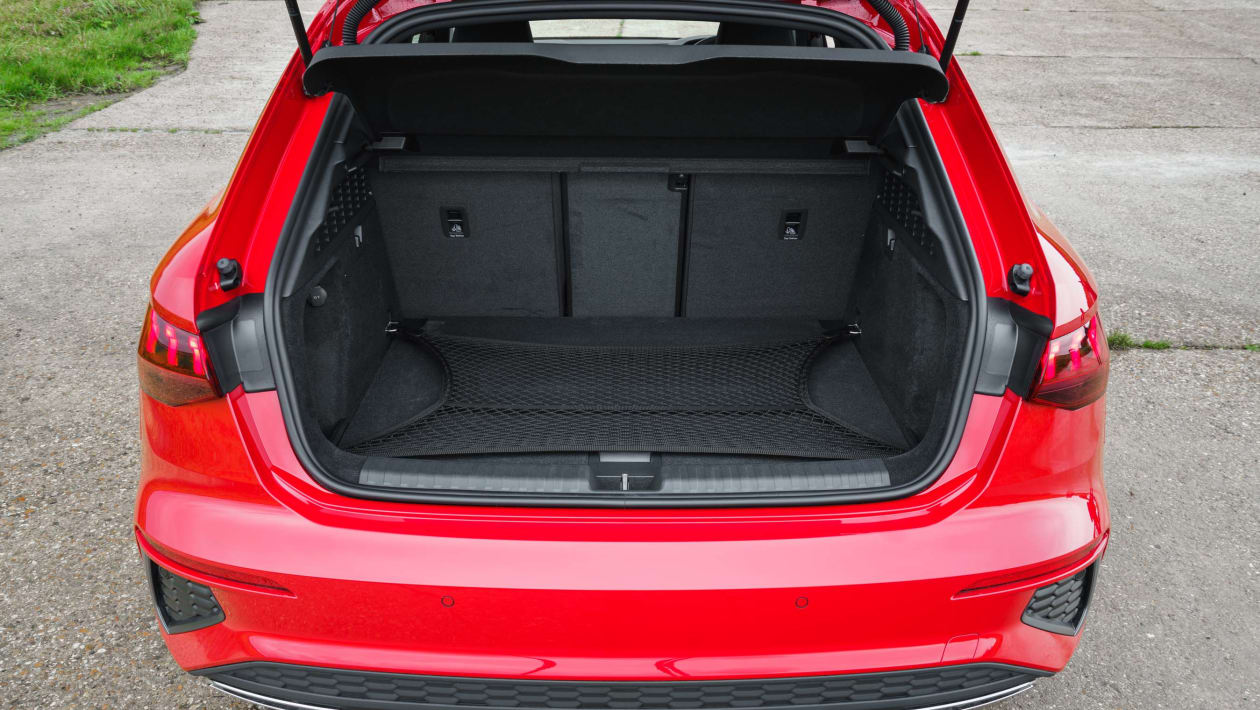 Audi A3 hybrid practicality & boot space | DrivingElectric