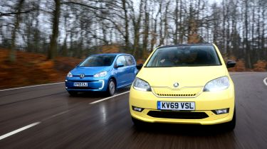Skoda Citigo-e iV vs Volkswagen e-up!