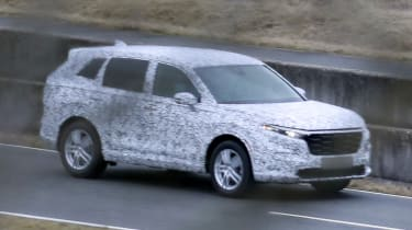 Honda CR-V spy shot