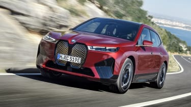 BMW iX exterior - Shanghai world debut