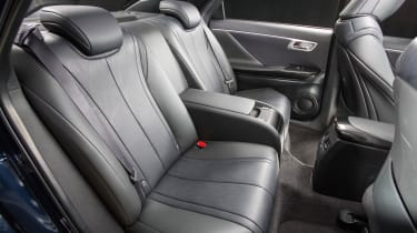 Toyota Mirai rear seats