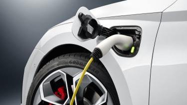 Hybrid car charging