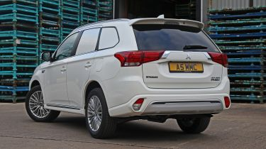 Mitsubishi Outlander PHEV Commercial rear