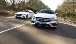 Mercedes E-Class twin test